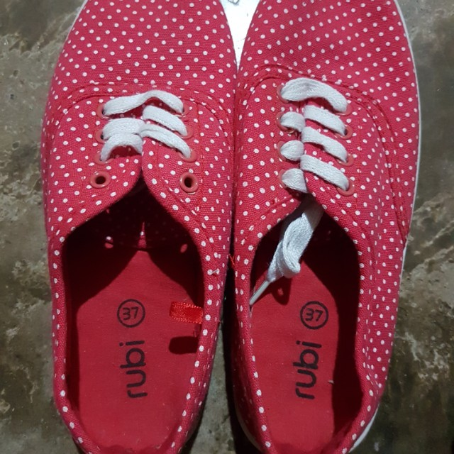 Cotton On (Rubi) Red Polka dots Sneakers