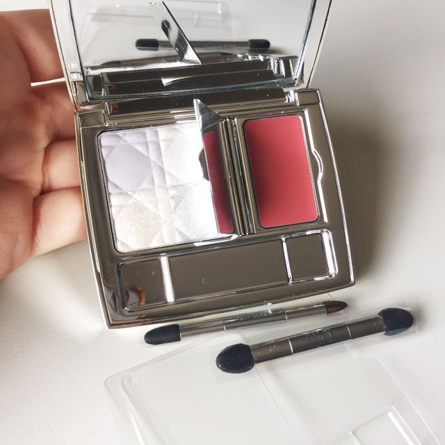 Dior Blue-tie Smoky Eye And Nude Lips 002