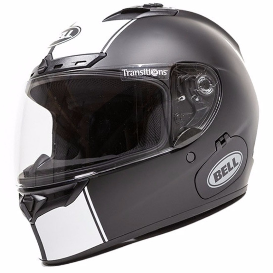 643246e1dca Bell Qualifier DLX SIZE X-LARGE XLONLY WITH TRANSITION LENS VISOR ...