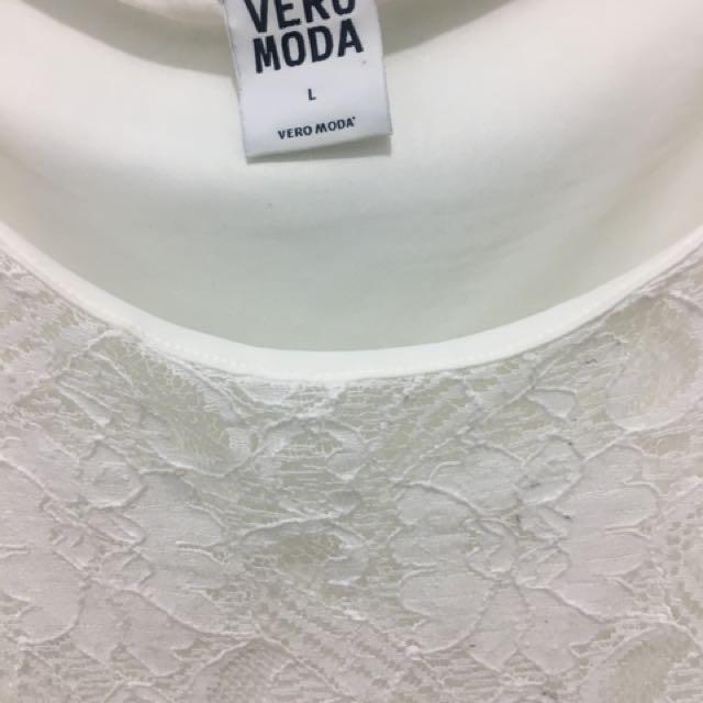 Dress burkat putih