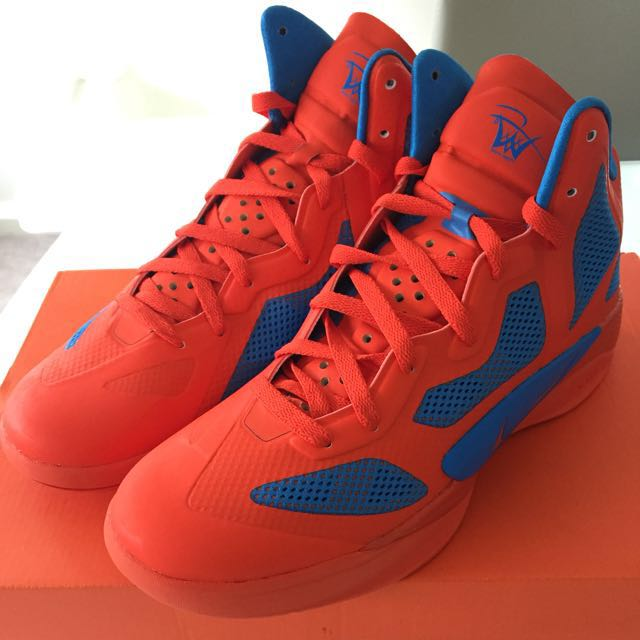 "DS Nike Zoom Hyperfuse - Westbrook PE aka ""Creamsicle"", Sz 10.5"