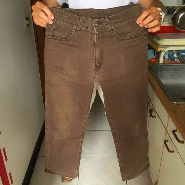[final price] Levi's 502 咖啡牛仔長褲