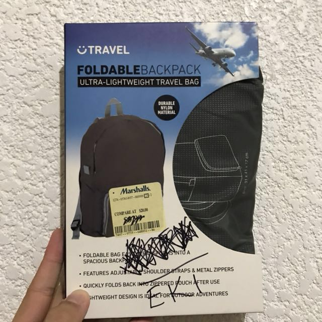 Foldable Backpack from Marshalls