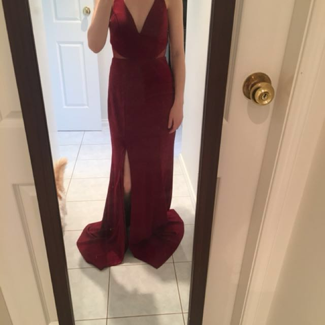 Formal dress bariano brand size 8
