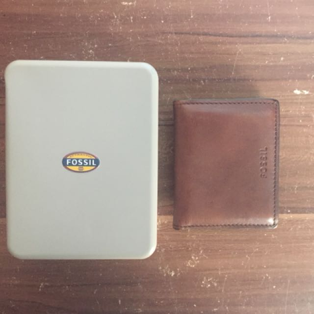 Fossil Brown Bifold with Money Clip