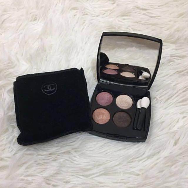 Free 📮:💜Authentic Chanel Les 4 Ombres Eyeshadow Palette