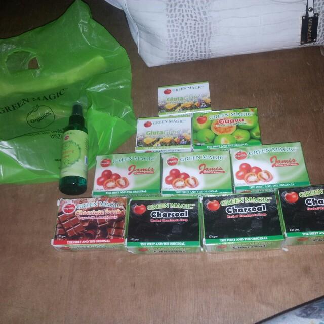 green magic organic soaps