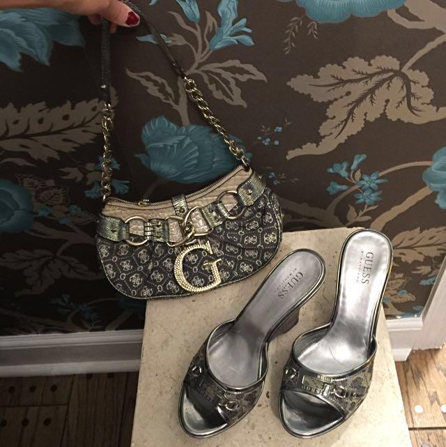 Guess Shoes & Purse