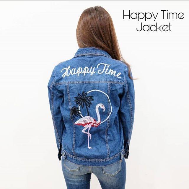 Happy Time Jeans - Flaminggo Jacket