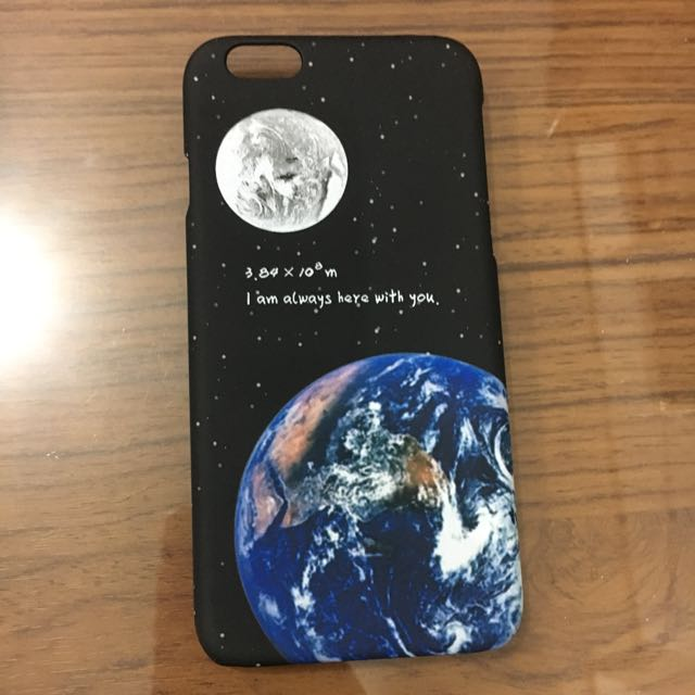 Hardcase Moon iPhone 6/6s