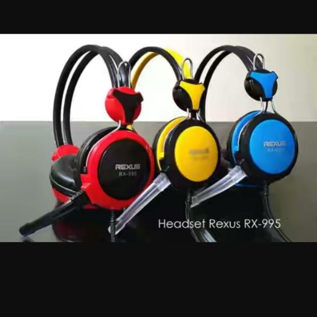 Headset gaming rexus