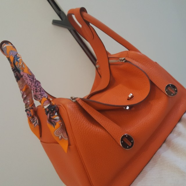 hermes lindy 30 orange poppy color