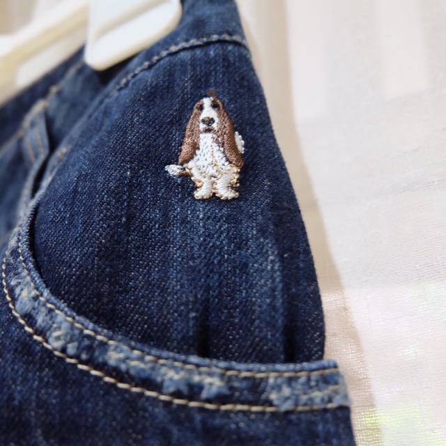 Hush Puppies Mini Jeans Skirt