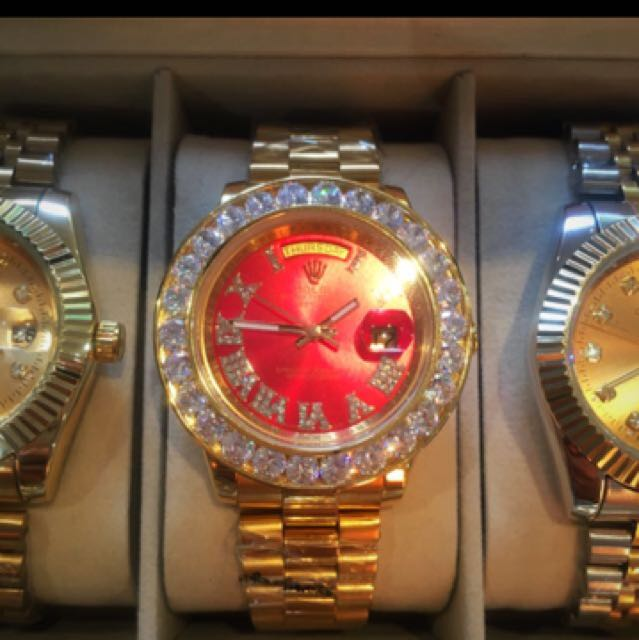 Iced Out Rolex