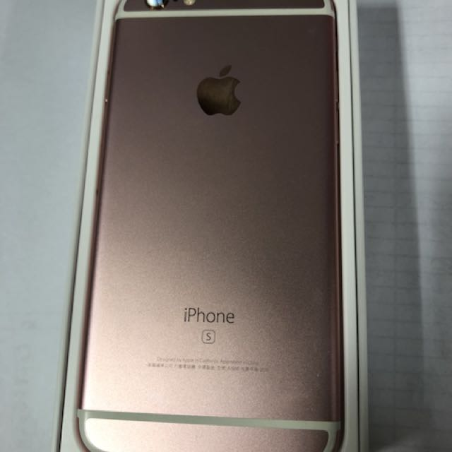 Iphone6s 64g 玫瑰金 4.7