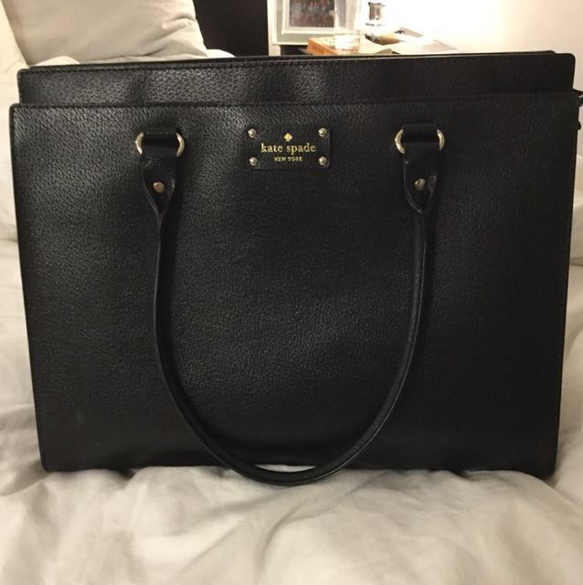 Kate Spade Black Bag / Briefcase