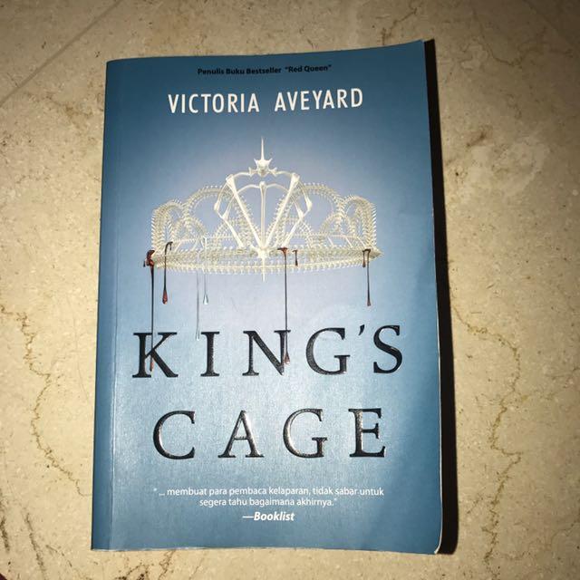 King's Cage by Victoria Aveyard - buku 3