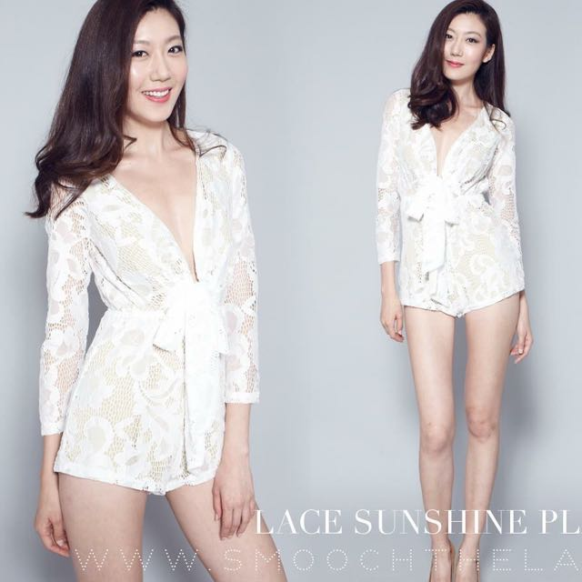 4661cec94ff Lace sunshine playsuit