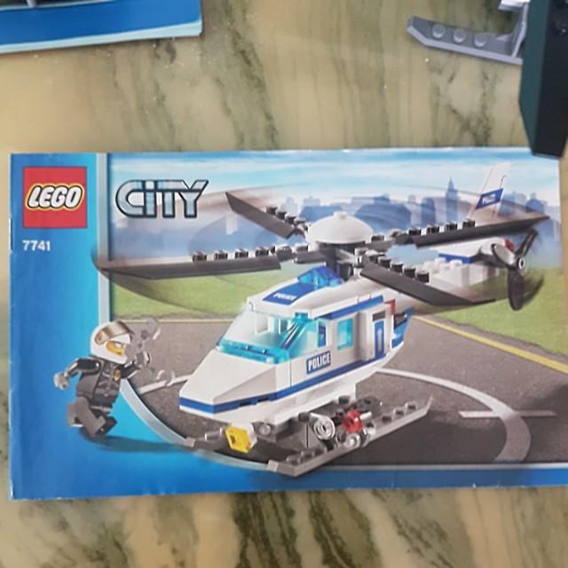 Lego City Lego Helicoper 7741 Toys Games Bricks Figurines