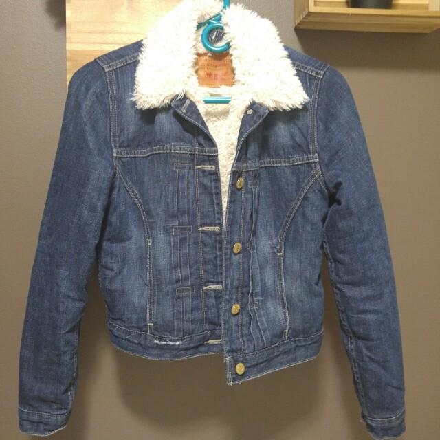 Levis Denim Sherpa Jacket