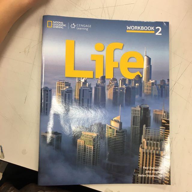 Life2b英文課本 workbook