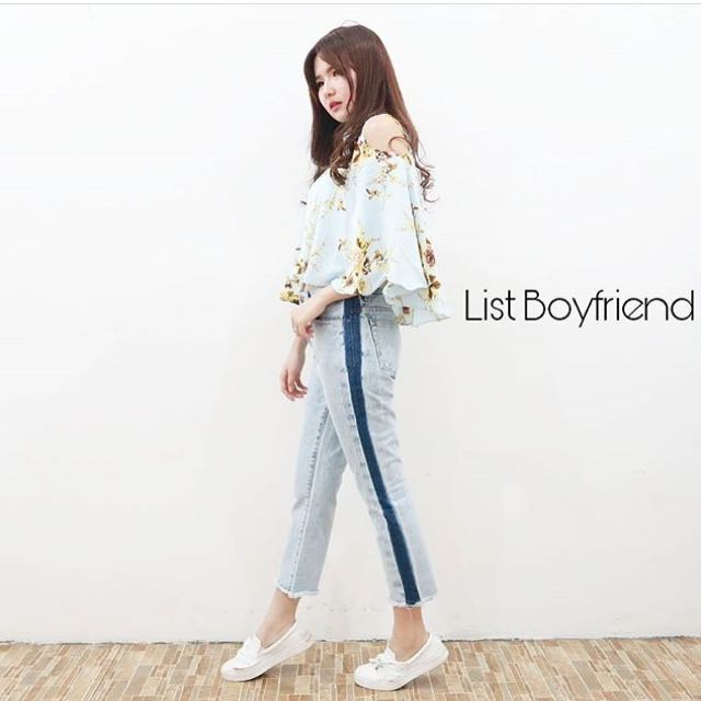 List Boyfriend Jeans