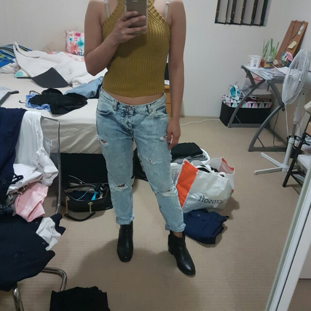 Mango pants size 8