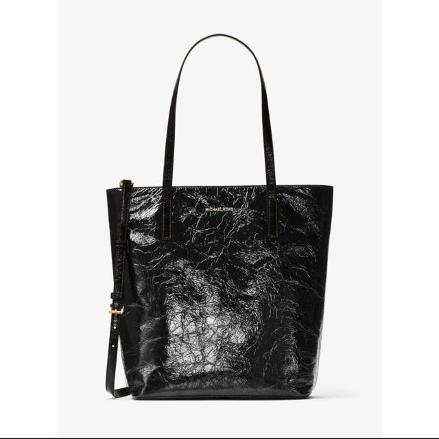 Michael Kors-Emry large crinkled leather tote