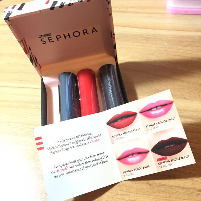 NEW SEPHORA ROUGE LIPSTICK - LIMITED EDITION 20th BDAY