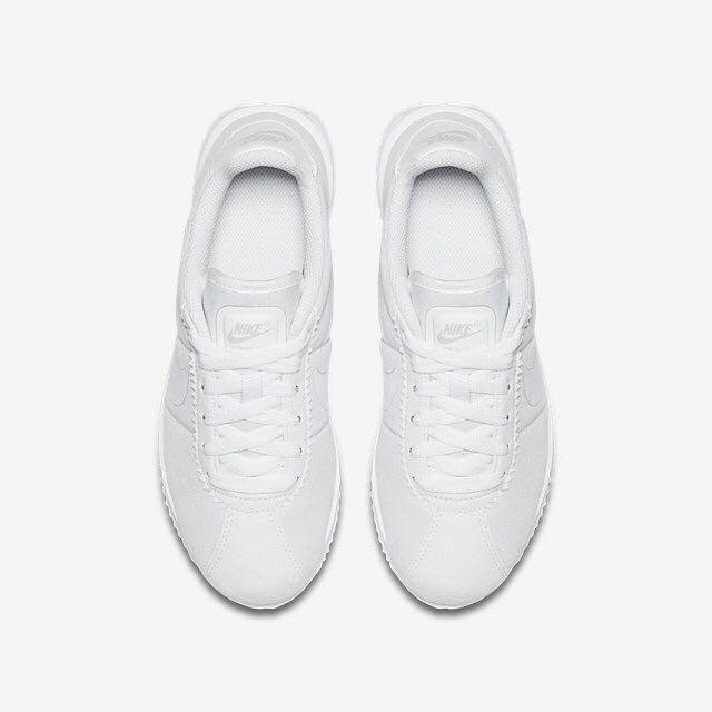 Nike 全白 阿甘鞋 7Y 全新