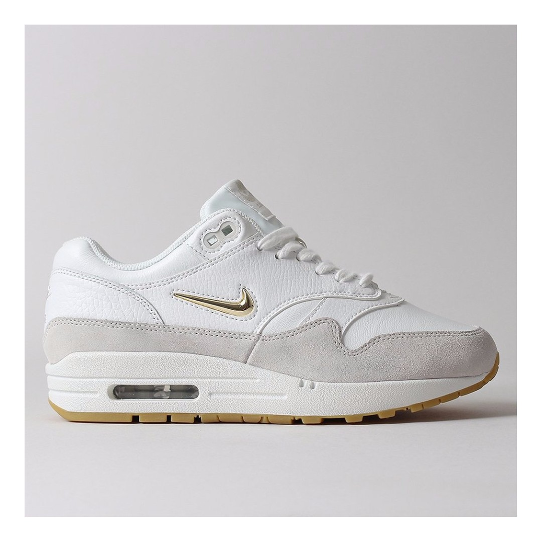 promo code a5a4f 818fc NIKE AIR MAX 1 PREMIUM SC SHOES – SUMMIT WHITE METALLIC GOLD STAR LIGHT BONE,  Men s Fashion, Footwear, Sneakers on Carousell