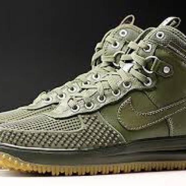 Nike Lunar Force 1 Duckboot - Olive Green US10.5