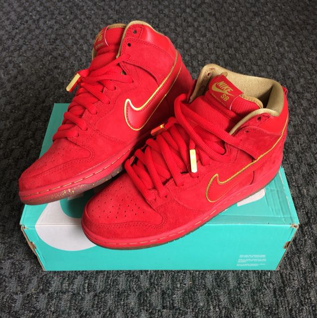 """info for f40b1 845a9 Nike SB Dunk High Pro """"Year Of the Horse"""", Men s Fashion, Footwear ..."""