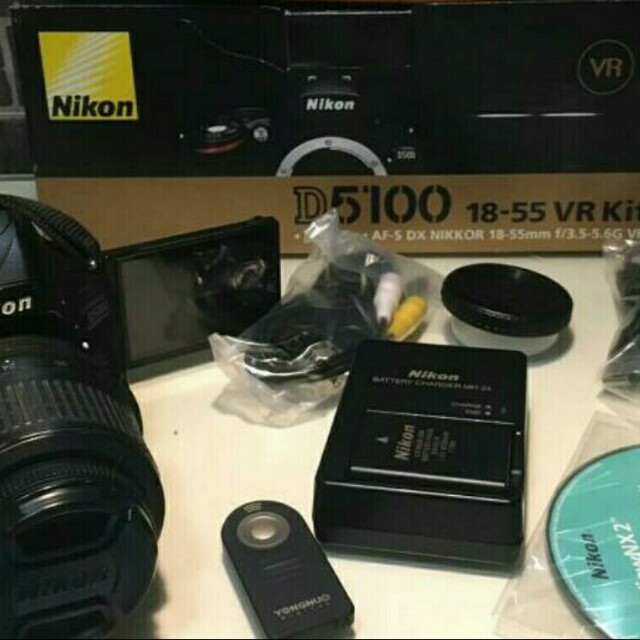 Nikon D5100 Best Package