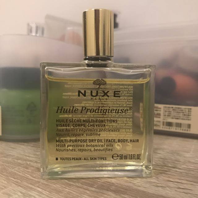 Nuxe dry oil