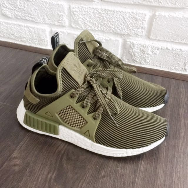 8bbcfbc4286d7 ON-HAND  Adidas NMD XR1 Olive Green PK S32217