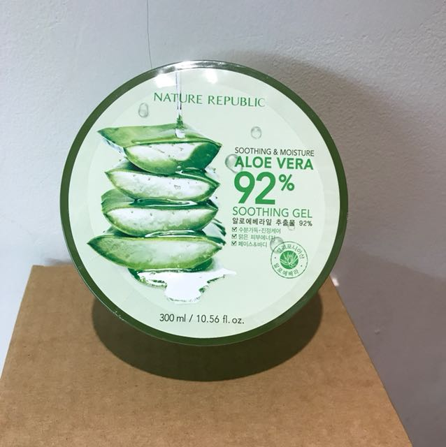 ORIGINAL - Nature Republic Aloe Vera 92% Soothing Gel