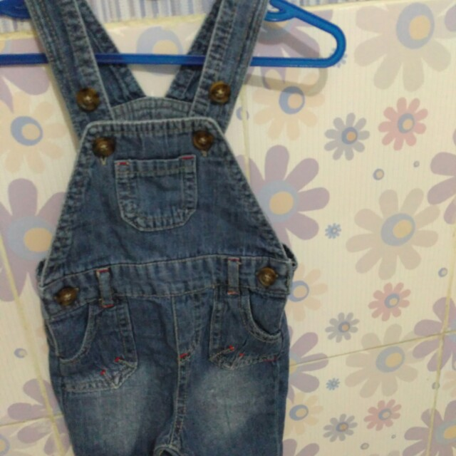 overall jeans early days 0-3m
