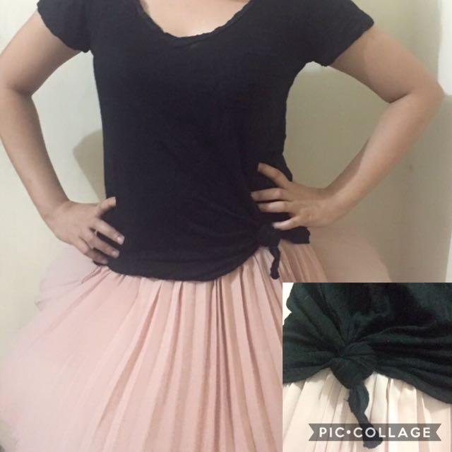 Preloved blouse skirt not included