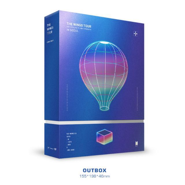 [PRE-ORDER] The Wings Tour BTS 2017 Live Trilogy Episode III in Seoul (DVD) + Poster in Tube + Free Gifts