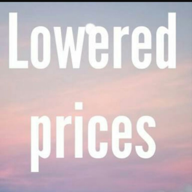 Prices have been lowered