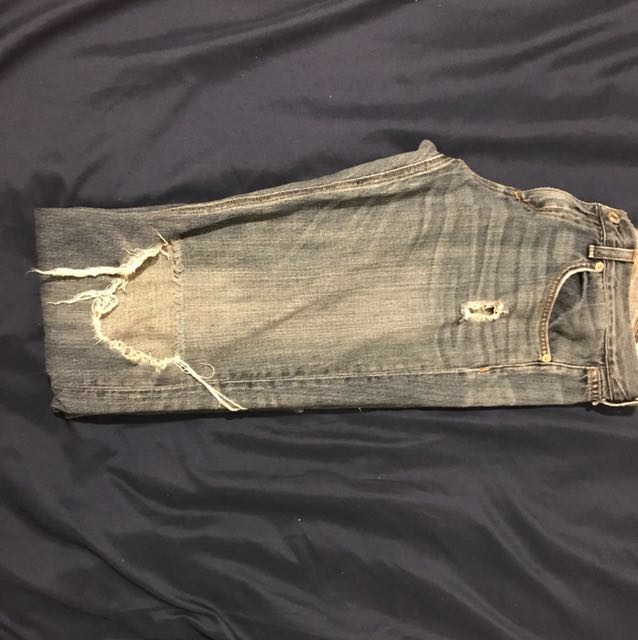 Rag and bone size 26 boyfriend denim