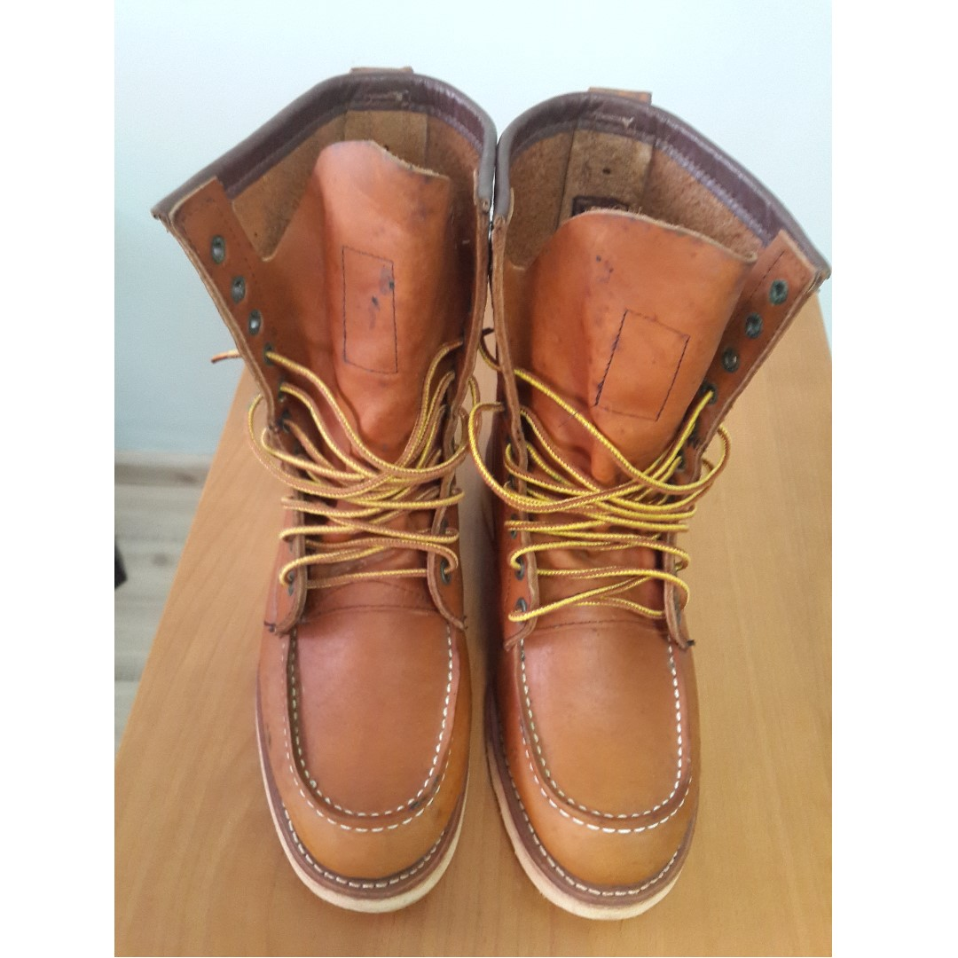 e206c10c3fa Red Wing Heritage Boots 877 USA_8 Inch [10 eyelets].