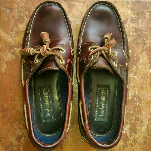 (Reduced) Authentic Timberland Amherst 2 Eye Boat Loafers (boat shoes)