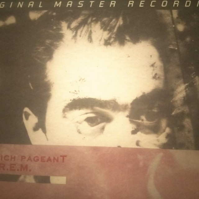 REM Life's Rich Pageant Mobile Fidelity (Numbered) Vinyl LP