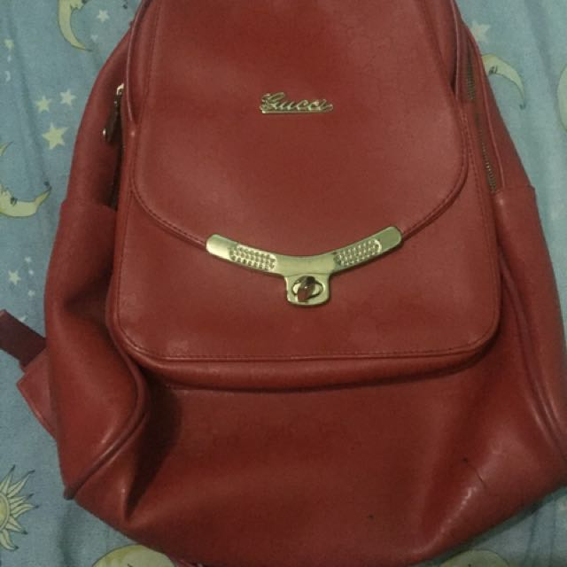 Reprice Gucci backpack