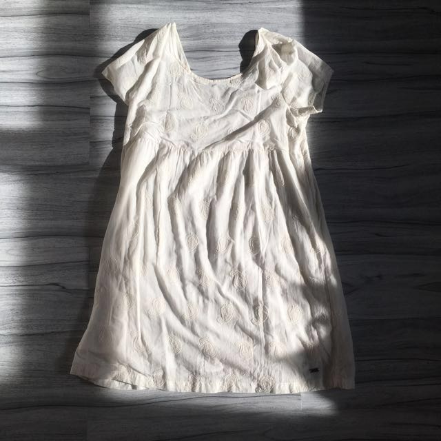 Roxy broken white midi dress