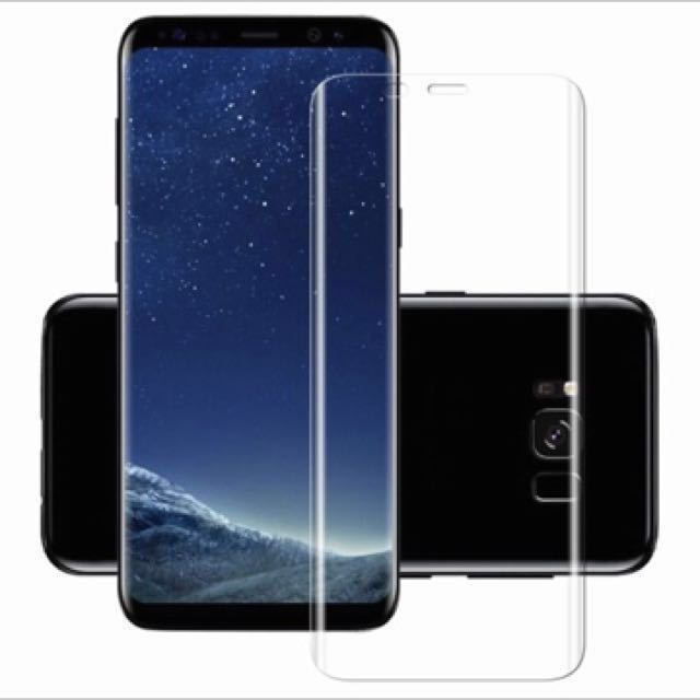 Samsung S8 / S8 plus FULL Coverage Tempered Glass Screen Protector - Free Postage, Mobile Phones & Tablets, Mobile & Tablet Accessories on Carousell