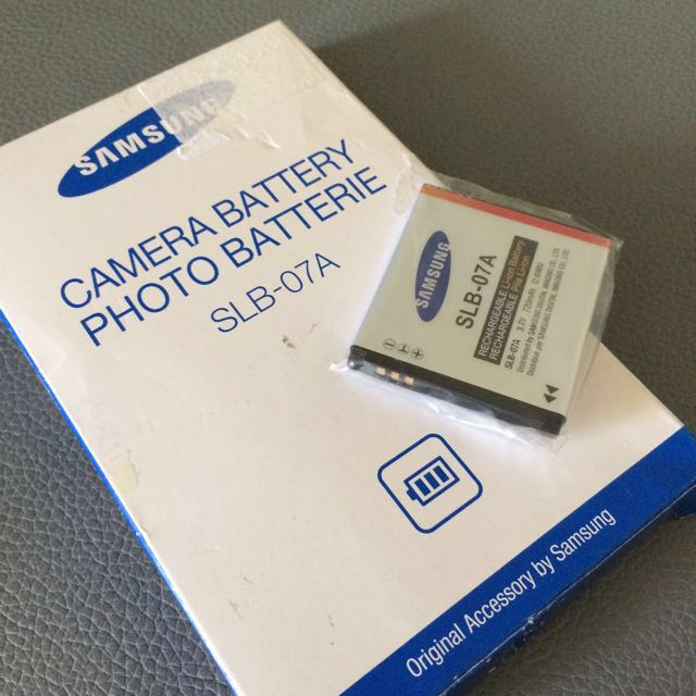 🆕Samsung SLB-07A Camera Battery #deepavali50