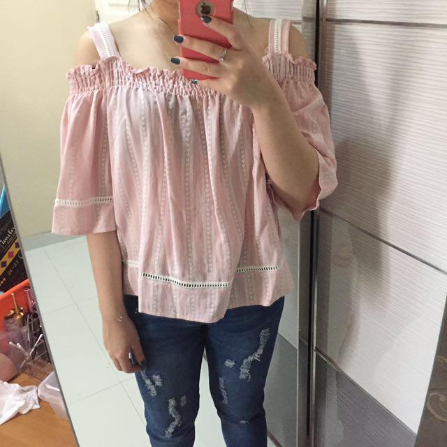 Singaporean pink top